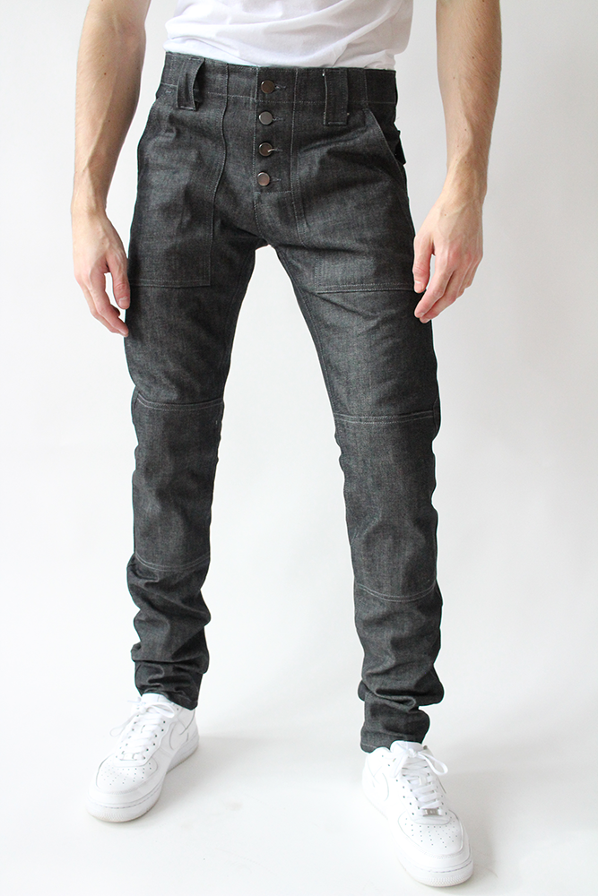 RC001 - Utility Panel Denim Pant