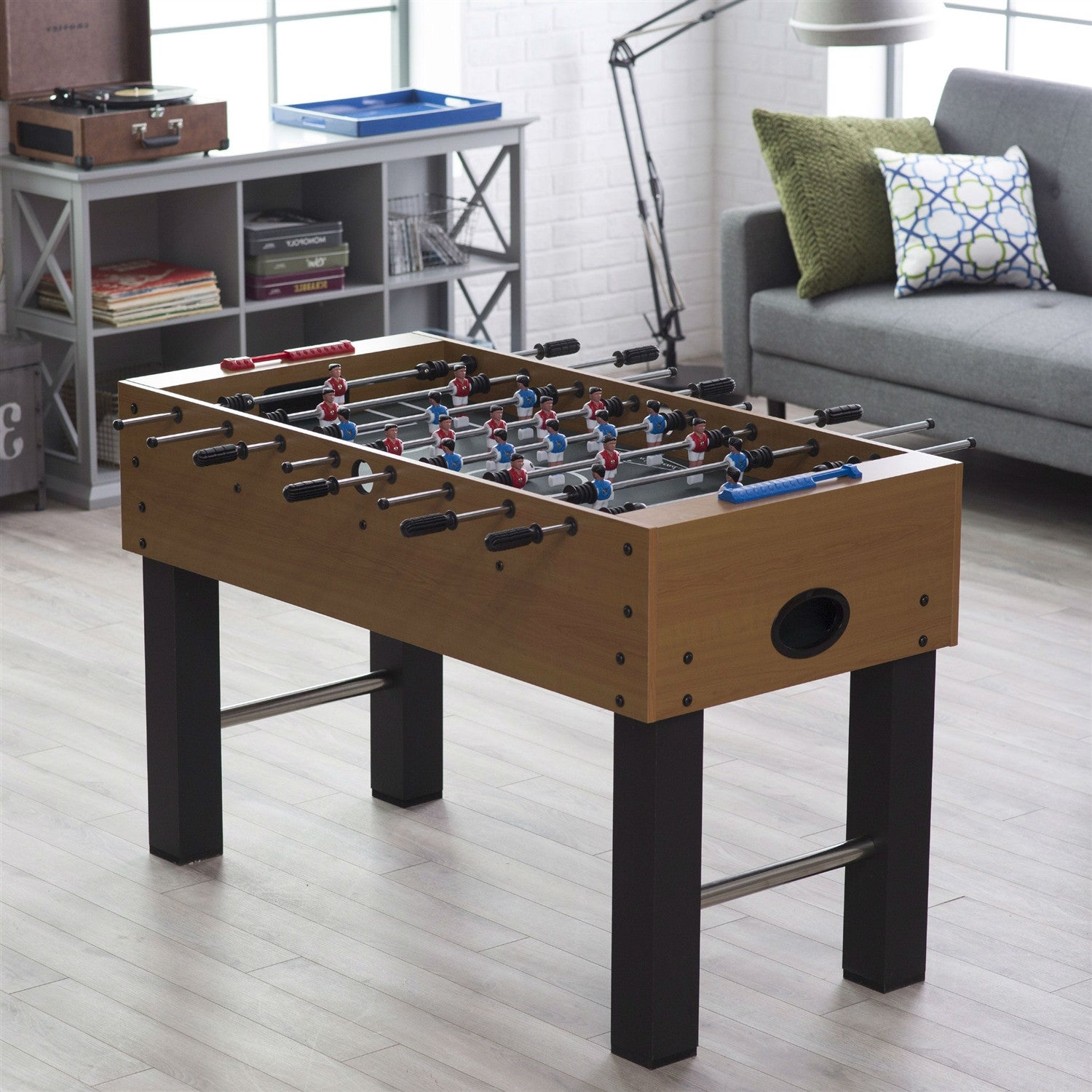 Foosball tables game room 52 inch foosball table with abacus scoring system geotapseo Image collections