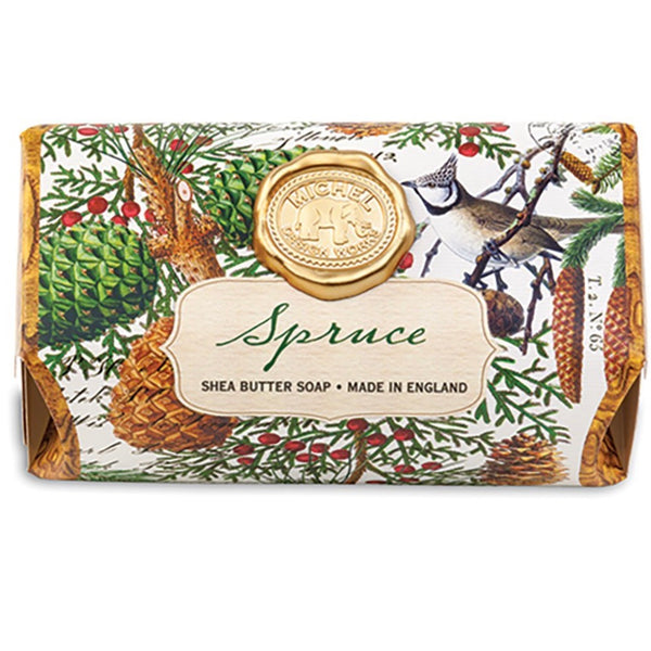 Michel Designs Spruce Large Bath Soap Bar