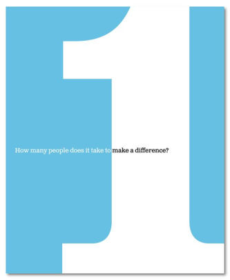 BOOK 1 HOW MANY PEOPLE DOES IT TAKE TO MAKE A DIFFERENCE?