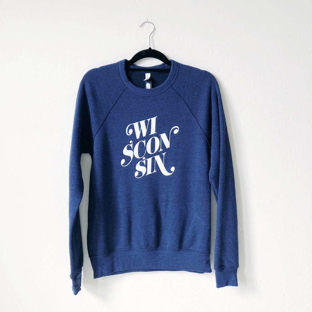 Wisconsin Sweatshirt - Navy