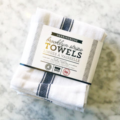 Brooklyn Stripe Towels - Set of 4