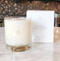 Simply Curated Vanilla + Lavender Soy Candle