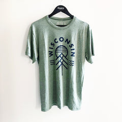 Native Wisconsin Unisex T-shirt - Pine