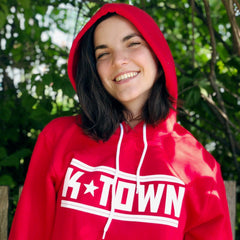 K-Town Hooded Sweatshirt - Bright Red