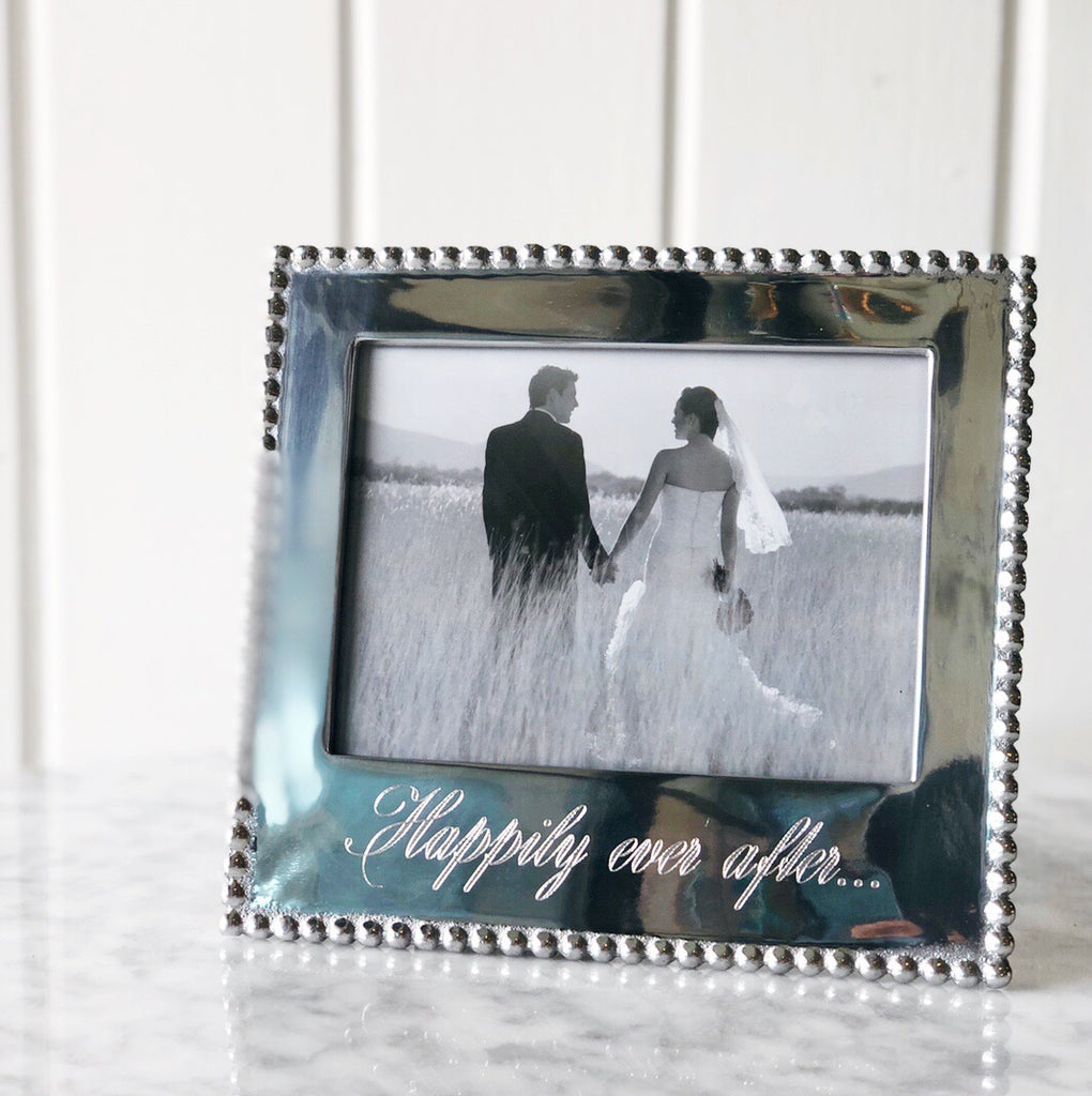 "Mariposa Happily Ever After Frame - 4""x6"""
