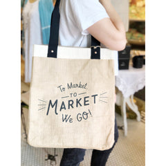 To The Market Tote