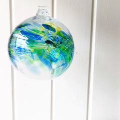 Hand Blown Glass Ball - Month of August