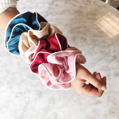 Satin Scrunchie - Assorted Colors