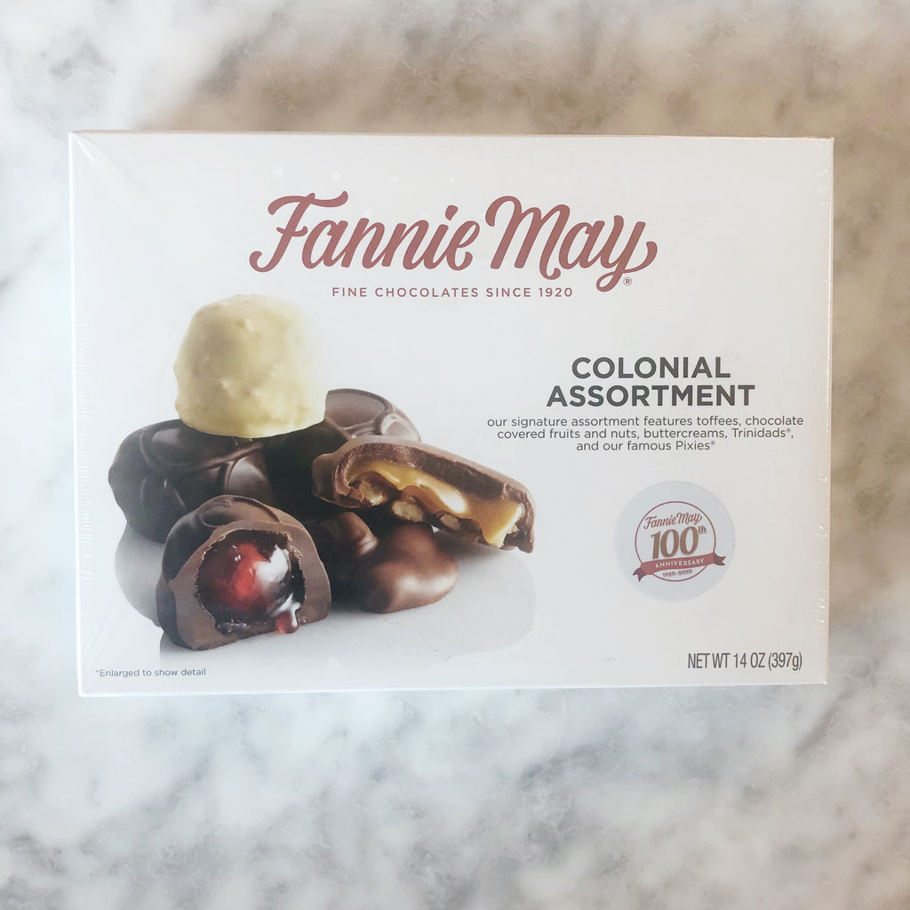 Fannie May Colonial Assortment 14oz Box