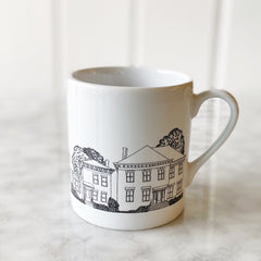 Vintage Hometown - Historic Houses Mug