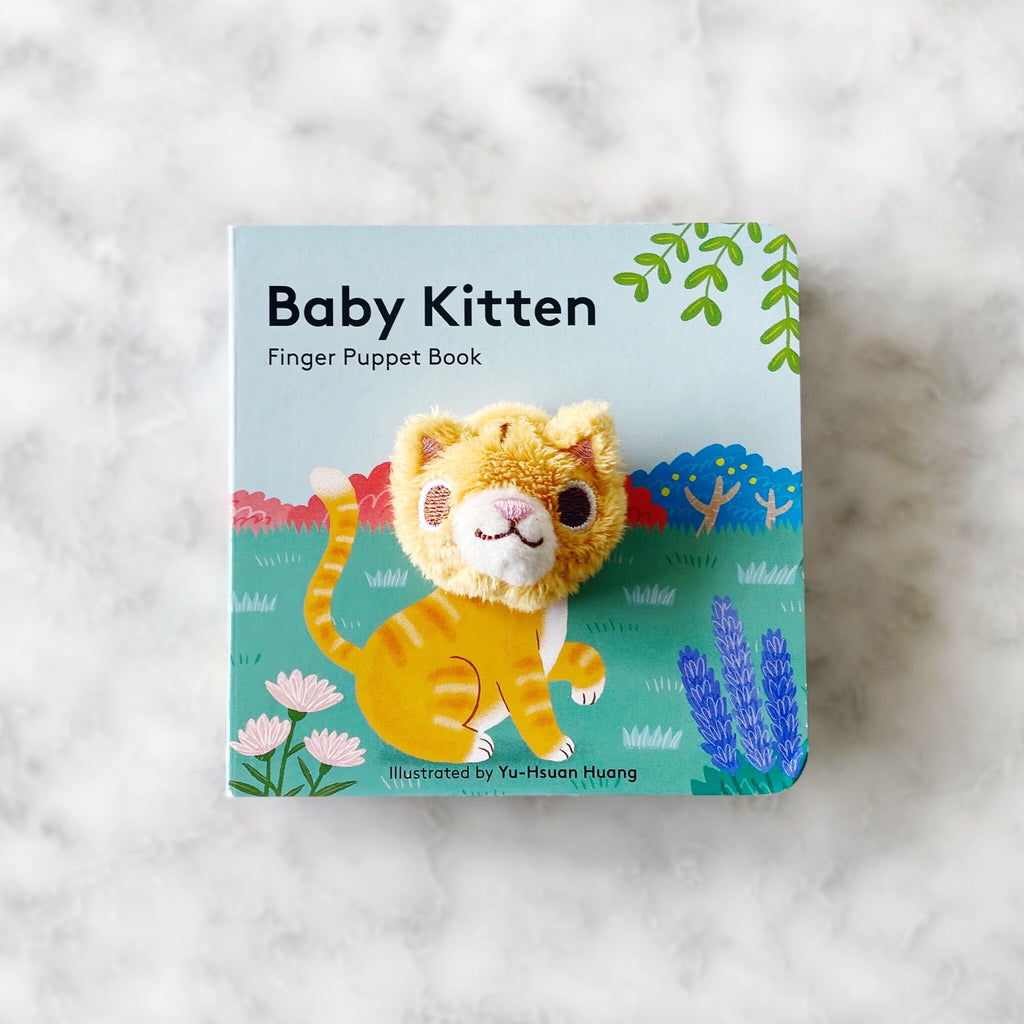 Baby Kitten Finger Puppet Board Book