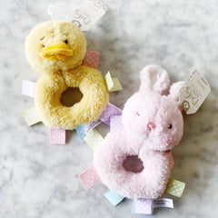 Ribbon Easter Rattles - Assorted Colors
