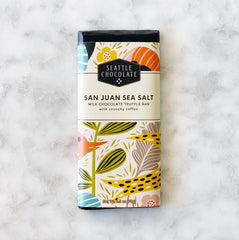 Seattle Chocolate San Juan Sea Salt Bar - 2.5oz