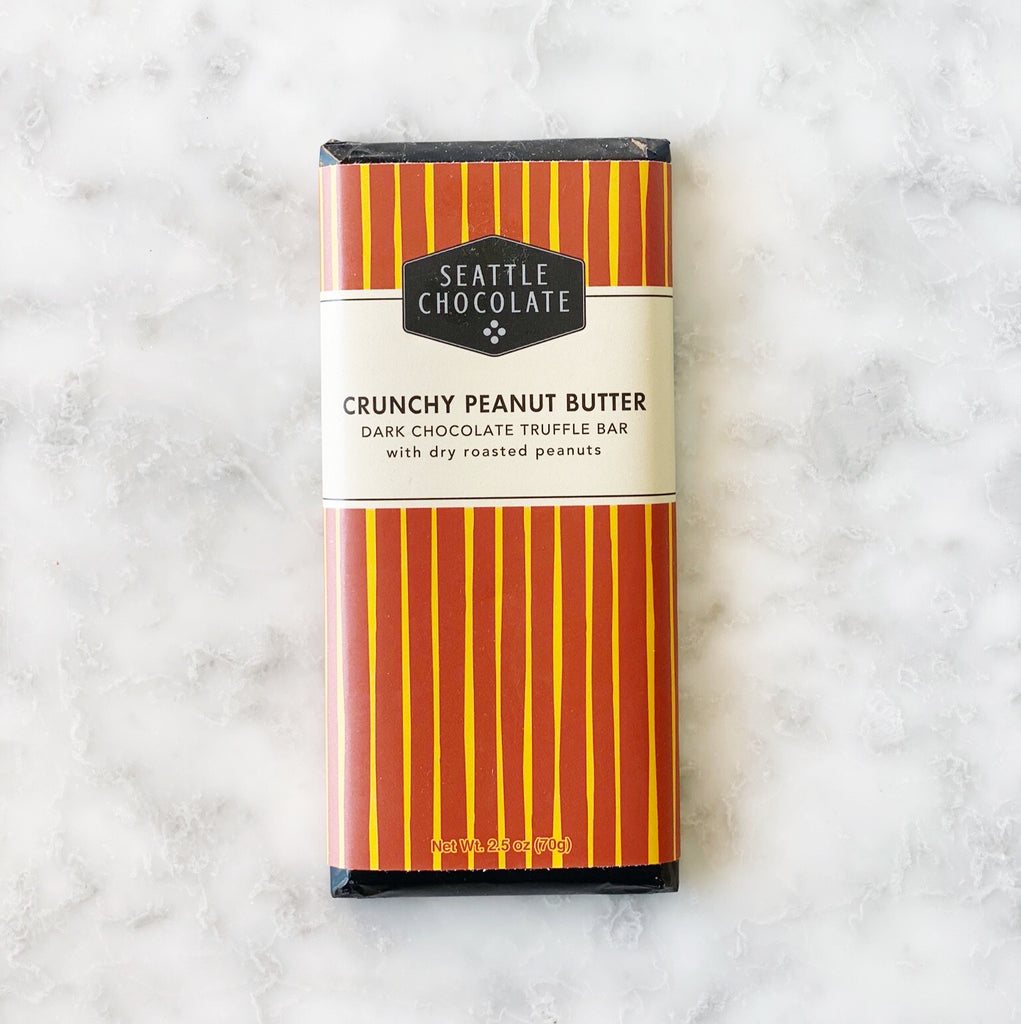 Seattle Chocolate Crunchy Peanut Butter Bar - 2.5oz