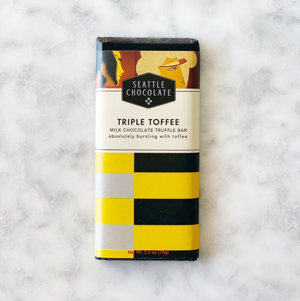 Seattle Chocolate Triple Toffee Bar - 2.5oz