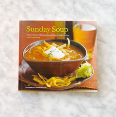 Sunday Soup Cookbook by Betty Rosbottom