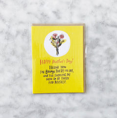 Mother's Day Card - Being There For Me