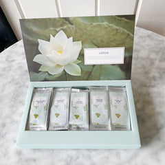 Single Steep Sampler Tea Box - Lotus