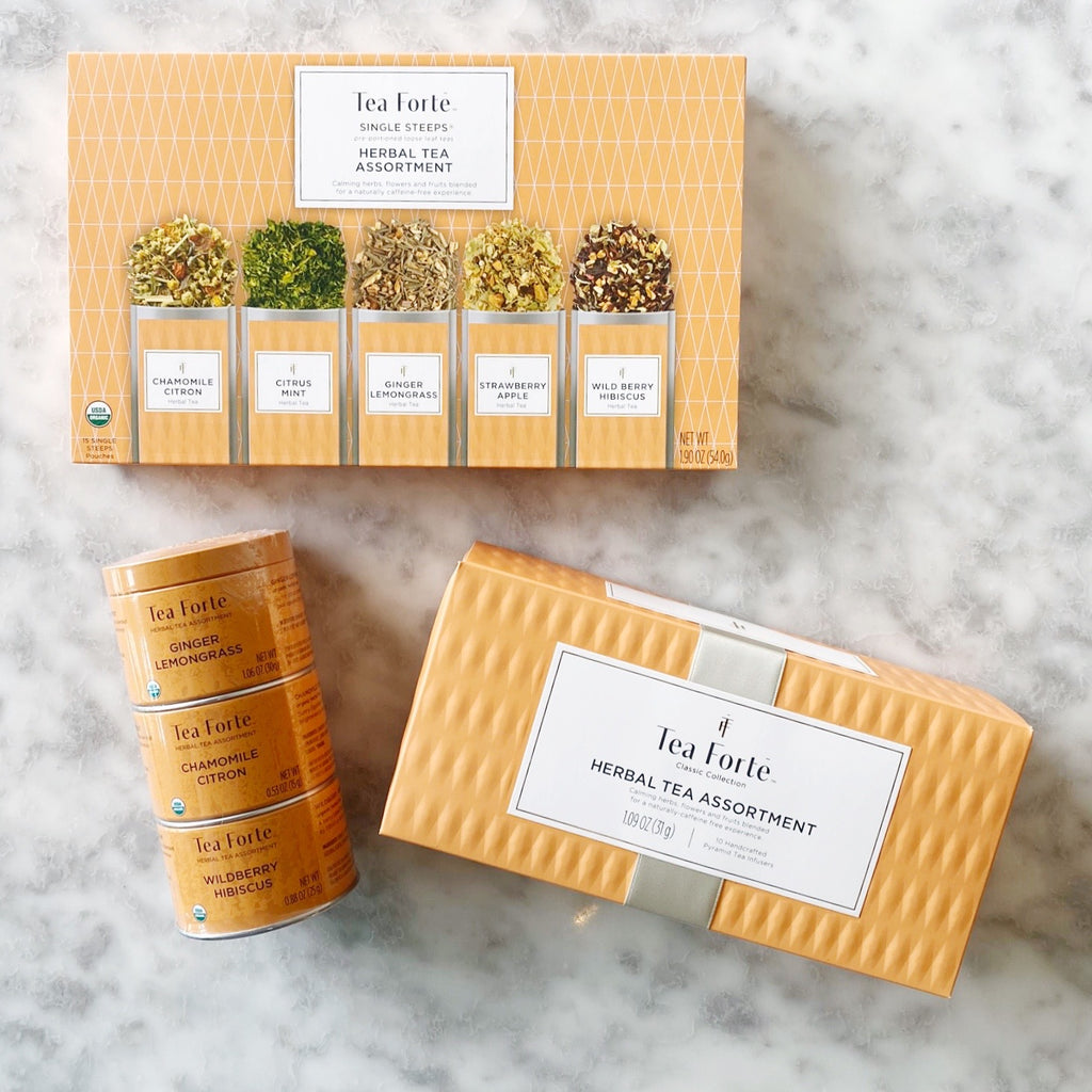 Tea Forte Herbal Tea Assortment - Choose Your Own