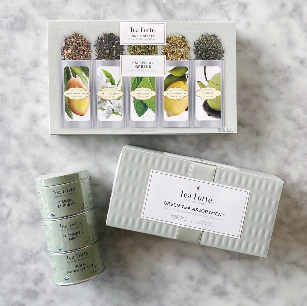 Tea Forte Green Tea Assortment - Choose Your Own