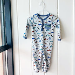 Fish Convertible Gown 3-6M