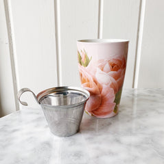 Kati Tea Cup With Metal Infuser - Jardin