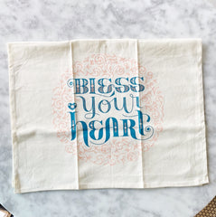 Bless Your Heart Hand Towel
