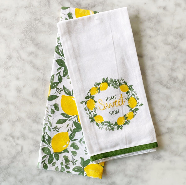 Home Sweet Home Hand towel Set of 2
