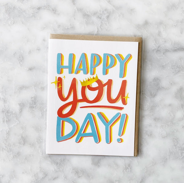 Greeting Card - Happy You Day!
