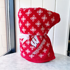 Vera Bradley - Wisconsin Madison Throw Blanket