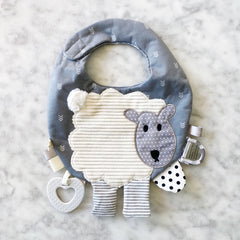 Lamb Activity Bib