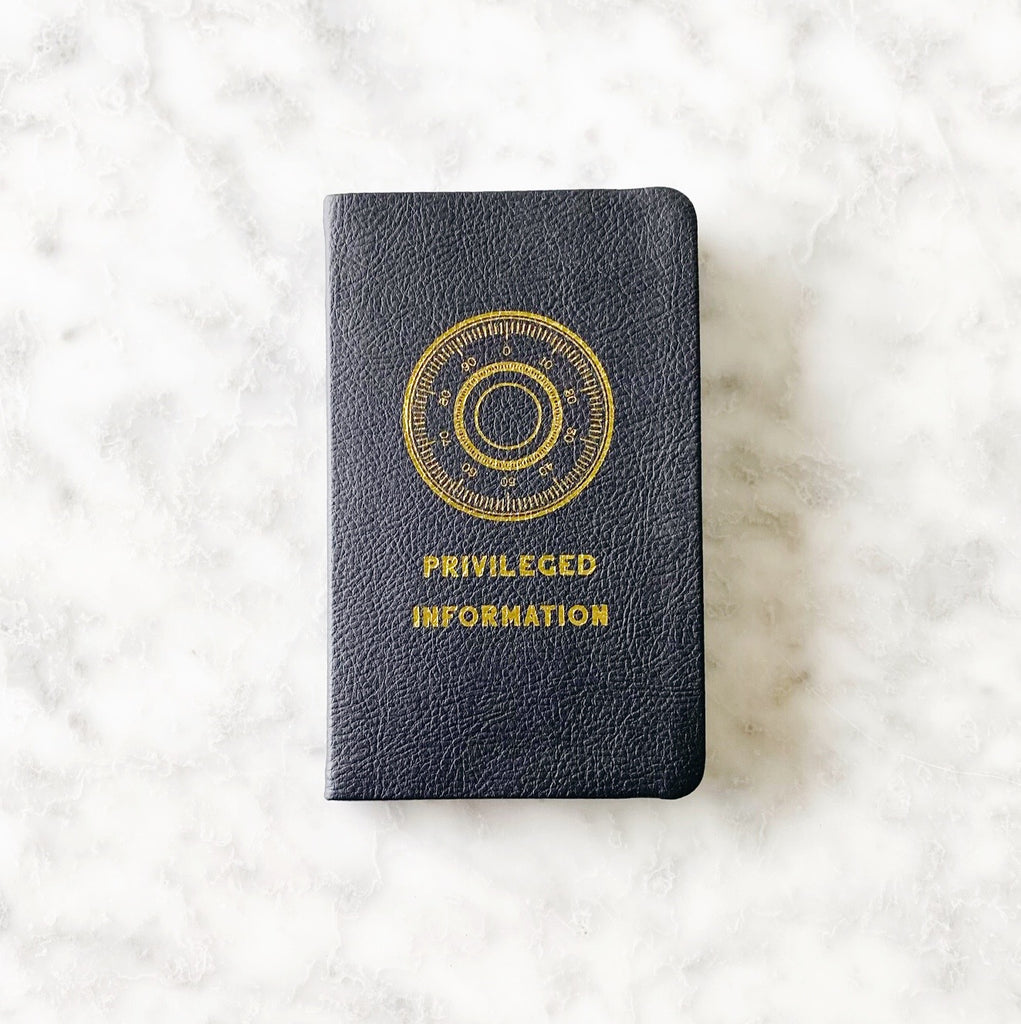 Privileged Information Pocket Notebook