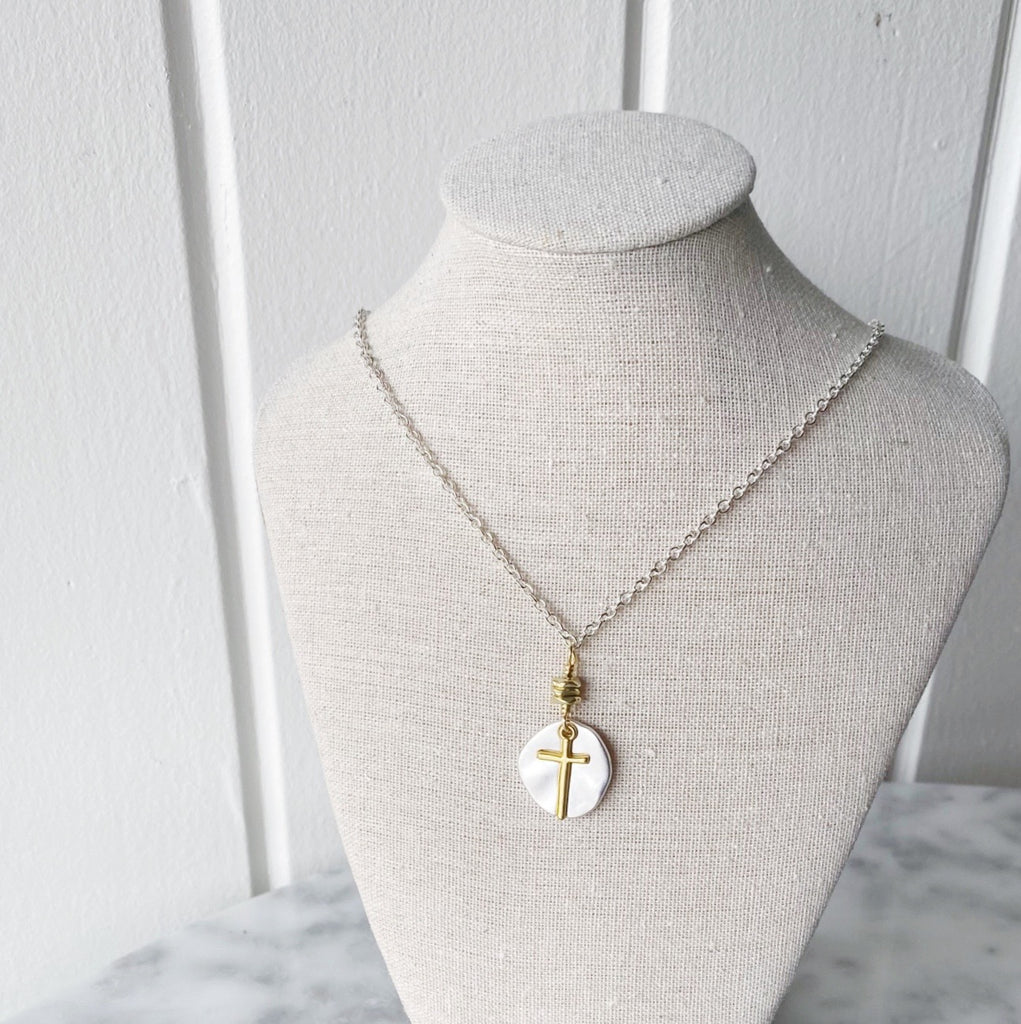 Treasure Chest Cross Necklace