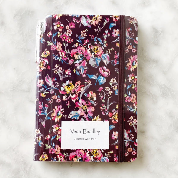 Vera Bradley Journal With Pen - Indiana Rose