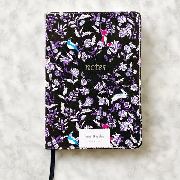 Vera Bradley Leatherette Journal - Foxwood