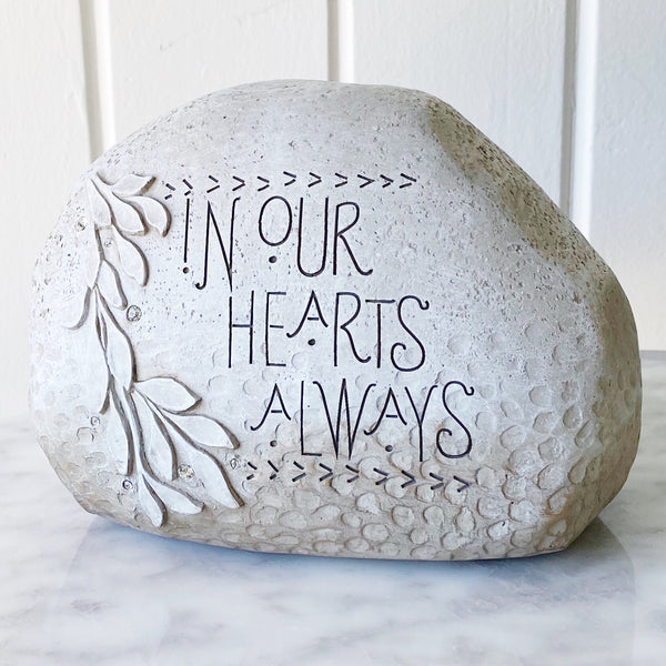 In Our Hearts Stone - In Memory