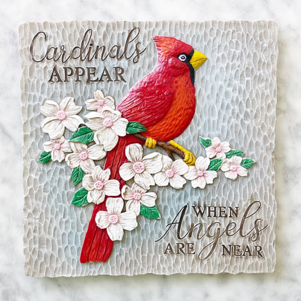 Cardinal Angels Stepping Stone - In Memory