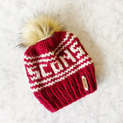 Knitted Wisconsin Hat