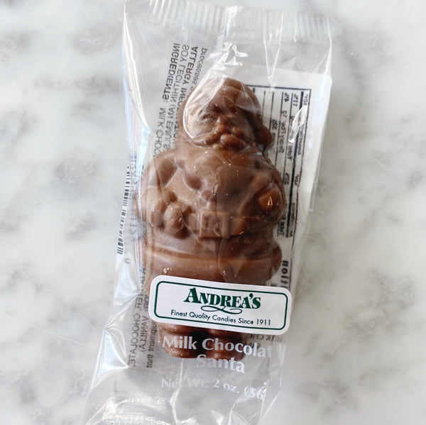 Gertrude Hawk Milk Chocolate Santa - 2oz