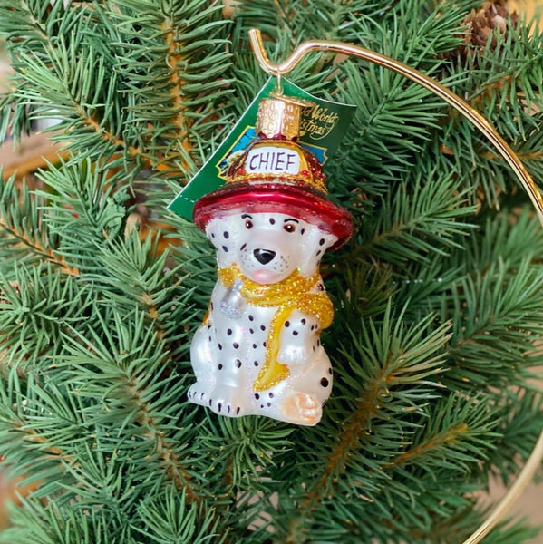 Old World Christmas Dalmation Pup Ornament