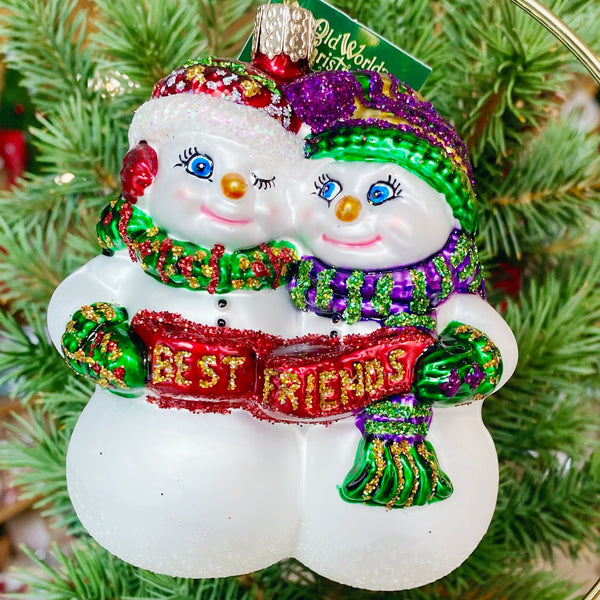 Old World Christmas Best Friends Ornament