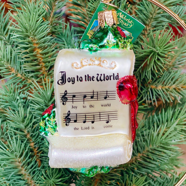 Old World Christmas Joy To The World Ornament