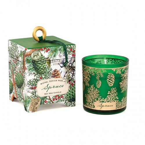 Michel Designs Spruce 6.5 oz. Soy Wax Candle