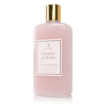 Thymes Goldleaf Gardenia Bubble Bath
