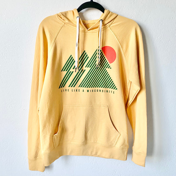 The Wisconsinite Hoodie - Harvest