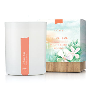 Thymes Neroli Sol Candle