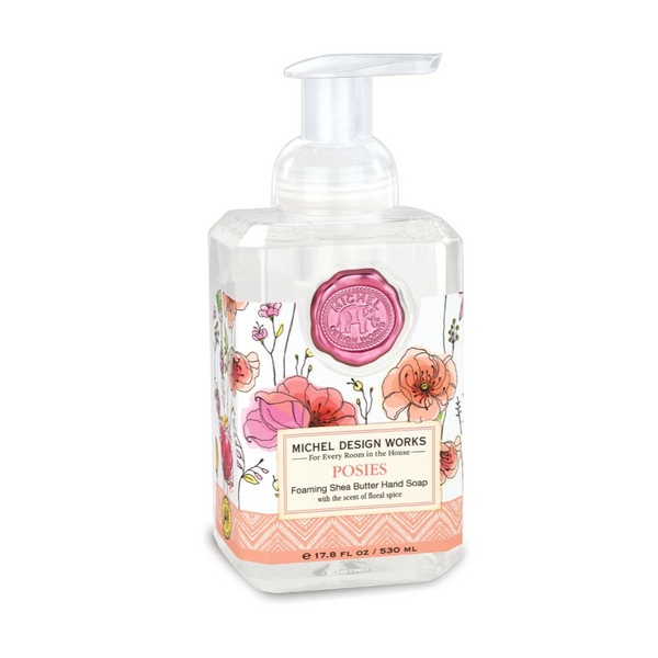 Michel Designs Posies Foaming Hand Soap