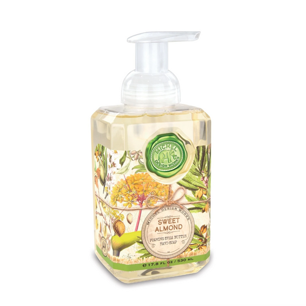 Michel Designs Sweet Almond Foaming Hand Soap