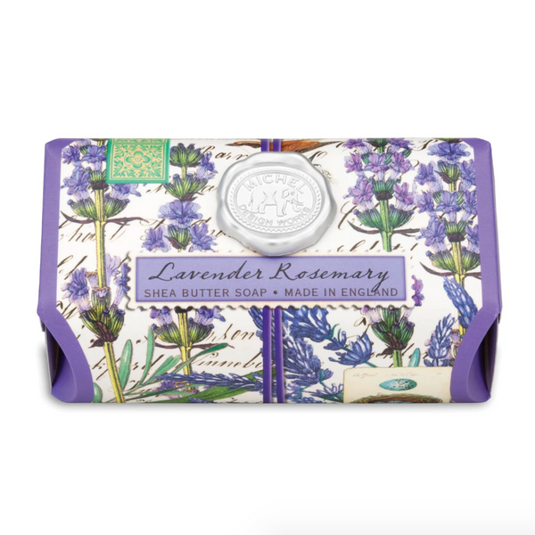 Michel Designs Lavender Rosemary Large Bar Soap
